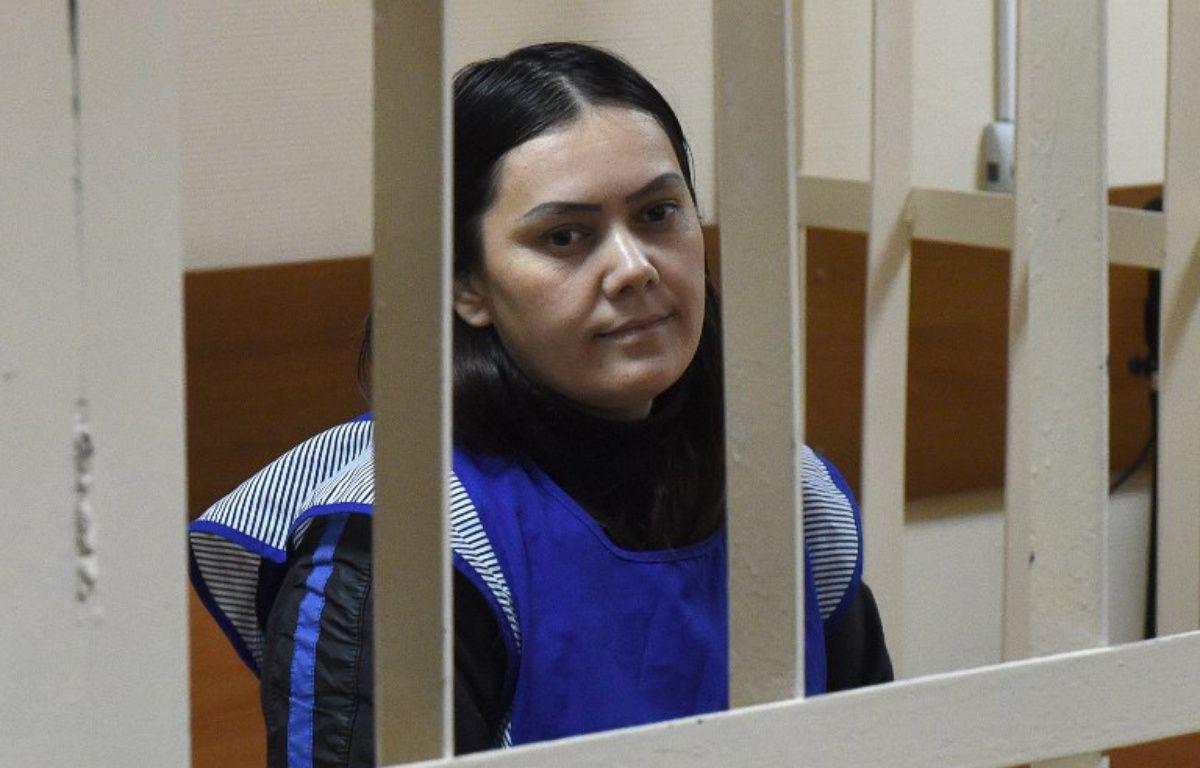 Goultchekhra Bobokoulova est accusée d'avoir tué une fillette de quatre ans qu'elle gardait, puis d'avoir séparé la tête du corps. – VASILY MAXIMOV / AFP