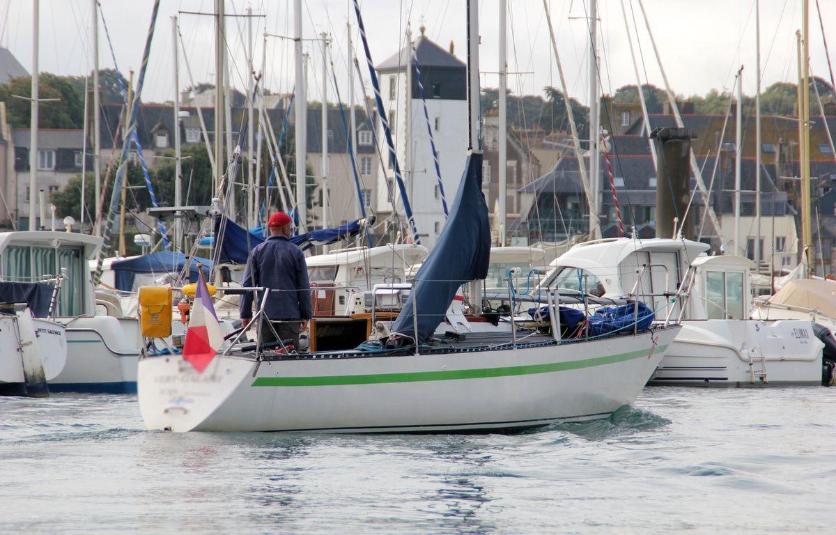 Illustration d'un bateau regagnant le port à Saint-Malo. – C. Allain / APEI / 20 Minutes