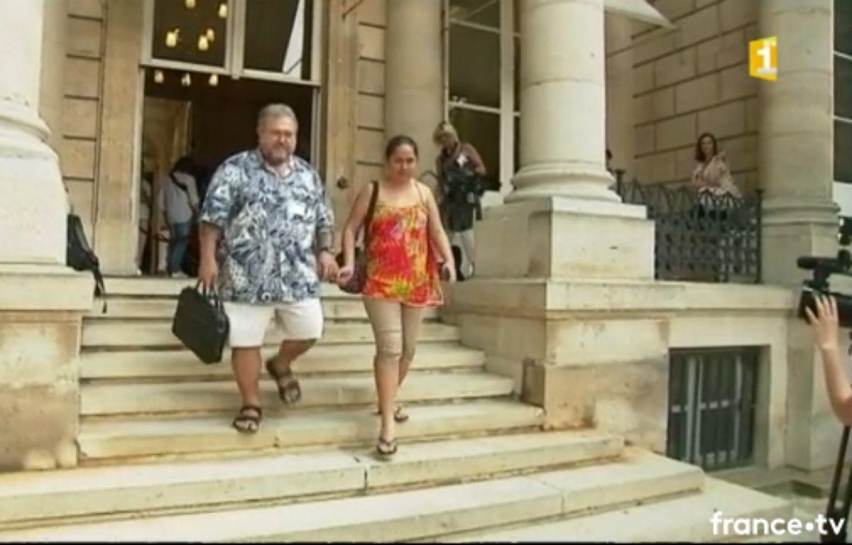 Le député polynésien indépendantiste Moetai Brotherson. – France O