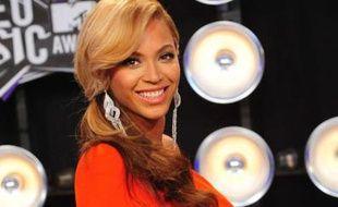 Beyonce arrivant aux MTV video music awards, le 28 août 2011 à Los Angeles