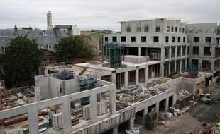 Construction du programme immobilier Carré Cheverus à Bordeaux