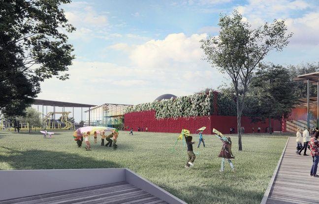 Le parc d'attractions Imagiland près d'Angoulême, doit ouvrir en 2023.