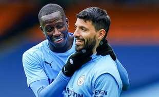 Fini les papouilles... Sergio Agüero va quitter Manchester City etBenjamin Mendy.