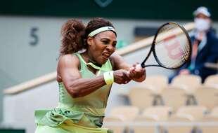 Serena Williams, victorieuse de Danielle Collins ce vendredi au troisième tour de Roland-Garros.