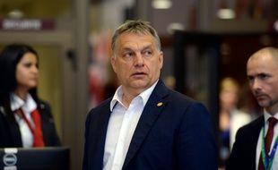 Le Premier ministre hongrois Viktor Orban à Bruxelles, le 28 juin 2016