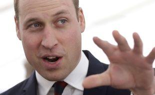 Le Prince William, photographié lors d'une rencontre à Londres (Royaume-Uni) avec les vétérans de l'armée britannique le 9 mars 2017.