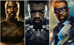 «Luke Cage», «Black Panther», «Black Lightning»... Trois super-héros noirs, trois oeuvres importantes