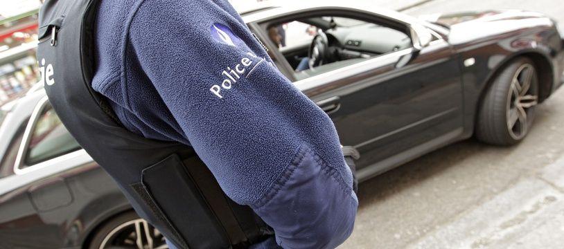 Illustration de la police belge.