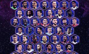 Les 50 nommés