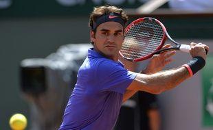 Federer à Roland... En 2015