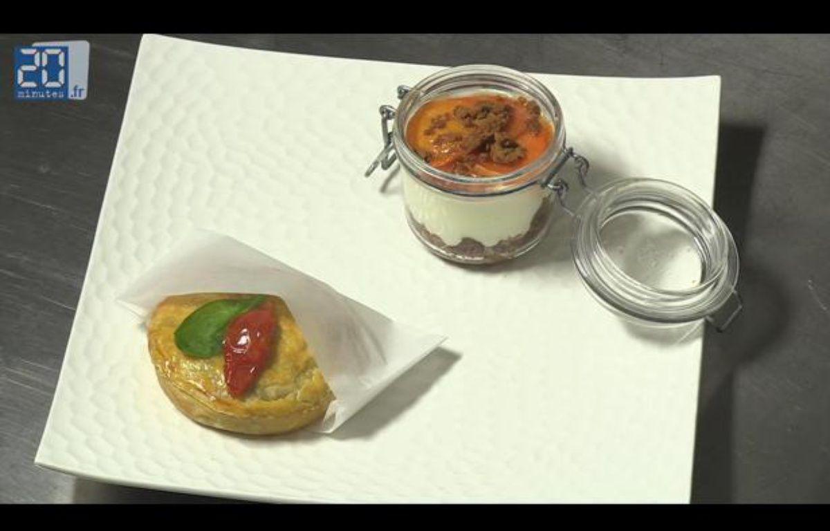 Tourte et cheesecake – 20 minutes