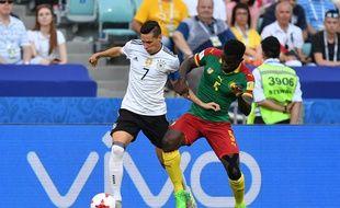 Julian Draxler est en grande forme lors de la Coupe des confédérations 2017 en Russie.
