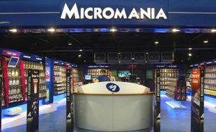 Illustration d'un magasin Micromania.