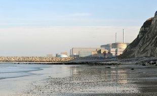 La centrale nucléaire de Penly, près de Dieppe.