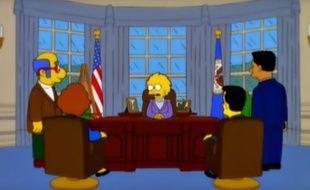 En 1999, les Simpsons avaient prédit la présidence de Donald Trump et son bilan désastreux.
