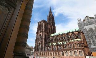 La cathédrale de Strasbourg dans le top 10 des monuments les plus appréciés en France. (Archives)
