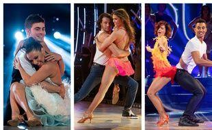 Les demi-finalistes de la saison 9 de «DALS»: Clément Rémiens et Denitsa Ikonomova, Iris Mittenaere et Anthony Colette, Terence Telle et Fauve Hautot.