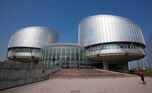 Le siège de la Cour européenne des droits de l'homme (CEDH).