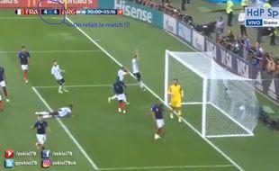 L'Argentin Zekiel79 a publié un montage vidéo où il imagine que l'Argentine a égalisé à 4-4 dans les arrêts de jeu contre la France, en huitième de finale de la Coupe du monde 2018.