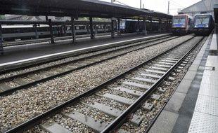 La gare d'Austerlitz, à Paris, le 4 juin 2016, lors de la grève à la SNCF.