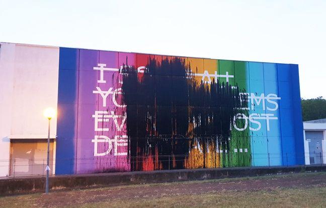 Toulouse: Une fresque d'art urbain pris pour cible par des vandales