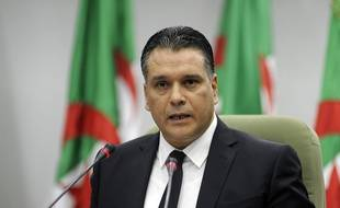 Mouad Bouchareb, le 24 octobre 2018 à Alger.