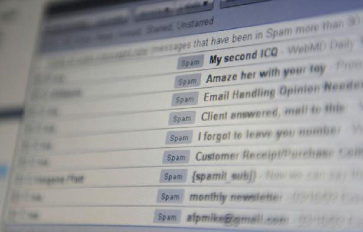 Un courriel avec pièce jointe d'1 Mo a un impact énergétique de 25 W/h, soit l'équivalent de deux heures d'usage d'ampoule basse consommation – MIKE CLARKE AFP