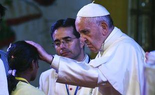 Le pape François en Birmanie