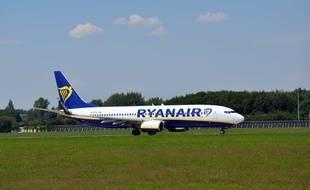 Un Boeing de la compagnie Ryanair, le 5 juillet 2018.