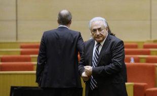 Dominique Strauss-Kahn a quitté mercredi après-midi le Sénat après avoir disserté durant une heure et quart sur la régulation du système bancaire international devant la commission d'enquête sur le rôle des banques dans l'évasion fiscale.