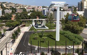 Un téléphérique va permettre aux usagers de traverser le fleuve du Var à partir du deuxième trimestre 2025