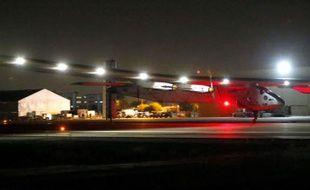 L'avion Solar Impulse 2 a décollé le 12 mai de l'Arizona dans l'ouest américain pour reprendre son tour du monde aérien