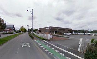 Les locaux d'Eiffage, rue Macarez à Valenciennes.