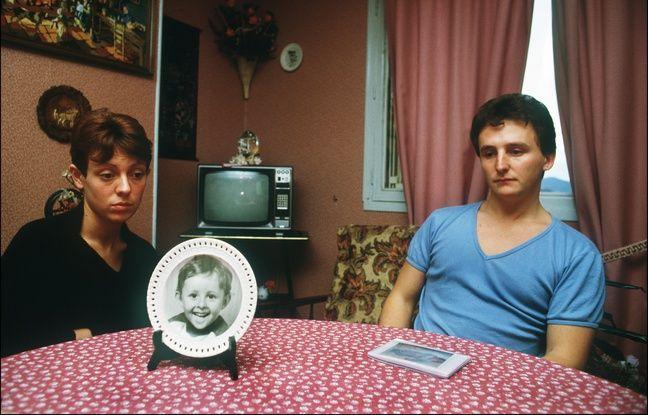 Epinal (Vosges), le 23 novembre 1984. Christine et Jean-Marie Villemin quelques semaines après l'assassinat de leur fils.