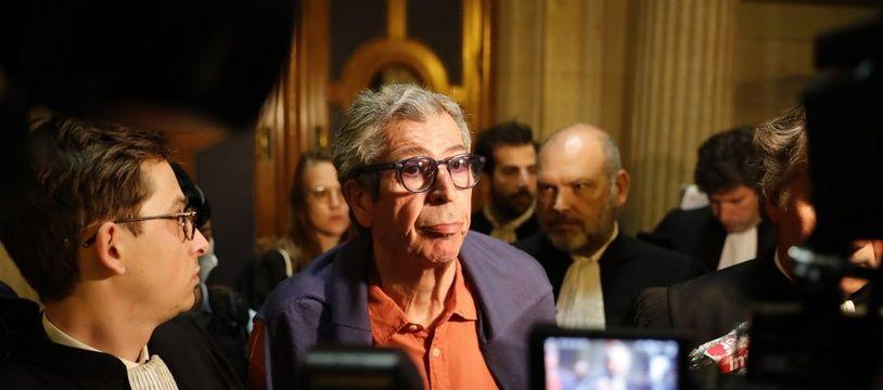 Patrick Balkany à la cour d'appel de Paris, le 27 mai 2020.