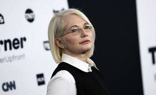 Ellen Barkin à New York, le 17 mai 2017.