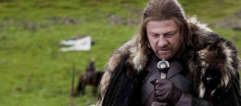 """Le personnage de Ned Stark dans la première saison de """"Game of Thrones""""."""