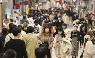 Une rue de Nagoya, le 15 novembre 2020.