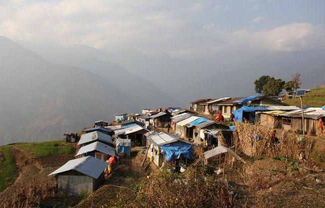 Un village du Népal.