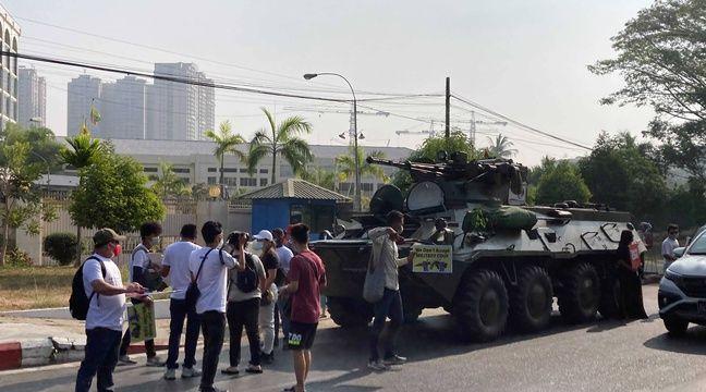 Birmanie : Les manifestations se poursuivent malgré l'intensification de la répression - 20 Minutes