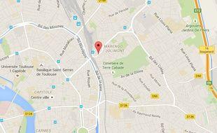 Le quartier Marengo, à Toulouse.