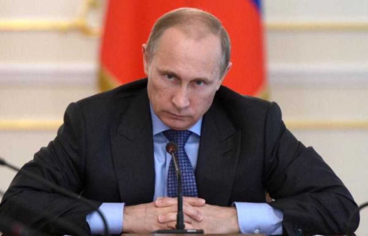 Le président russe Vladimir Poutine, le 30 juillet 2014 – Alexei Nikolsky Ria-Novosti