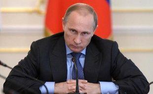 Le président russe Vladimir Poutine, le 30 juillet 2014