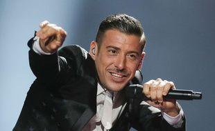 Francesco Gabbani candidat de l'Italie à l'Eurovision 2017.