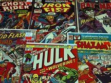 Des comics. Illustration.