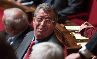 Patrick Balkany à l'Assemblée nationale en avril 2015