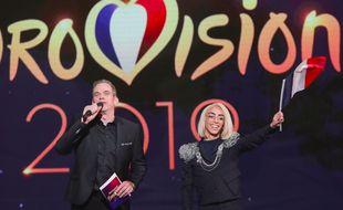 Bilal Hassani (au côté de Garou) a remporté «Destination Eurovision 2019».