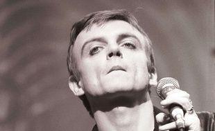 Mark E. Smith, le leader de The Fall, en 1985.