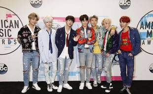 BTS aux «American Music Awards 2017».