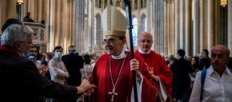 Le cardinal Barbarin a fait ses adieux dimanche 28 juin au diocèse de Lyon.